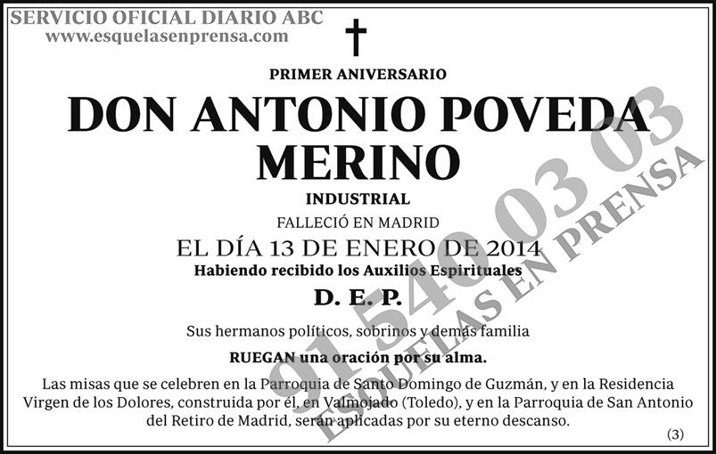 Antonio Poveda Merino